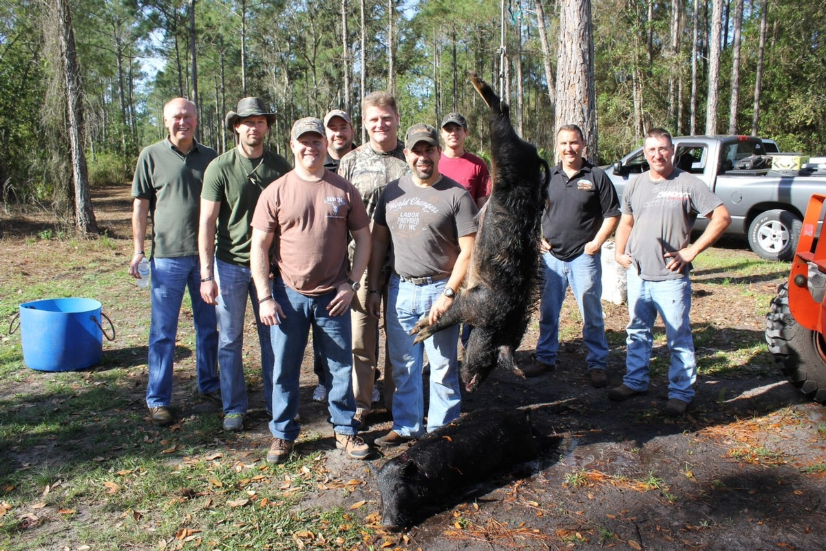 Corporate Hunting Retreats